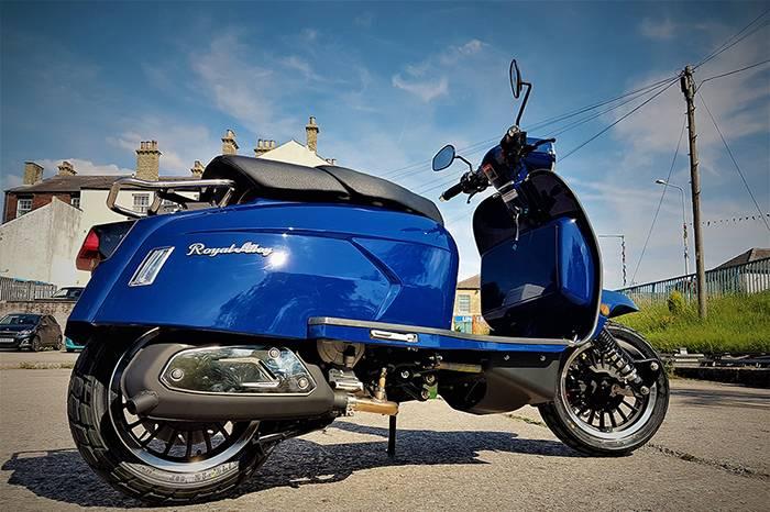 Royal Alloy复古踏板摩托车,引领英式骑行文化强势回归
