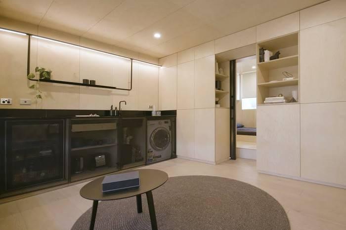 空间魔法师Timothy Yee,让这栋29平米的迷你房间实现一切起居需求
