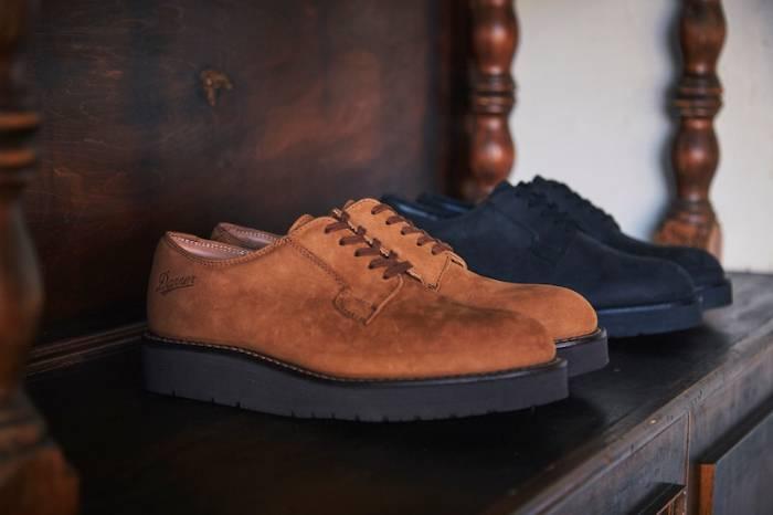 Danner日本限定款皮鞋 喜欢宽廓形跟厚底的要留意了