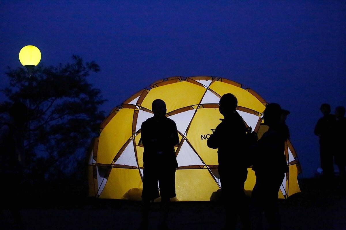 一场时髦的山中祭典 日本MOUTAIN FESTIVAL千人户外露营