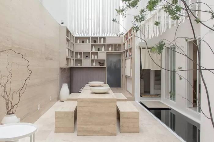 日式风的小酒店,自然又清新的室内设计