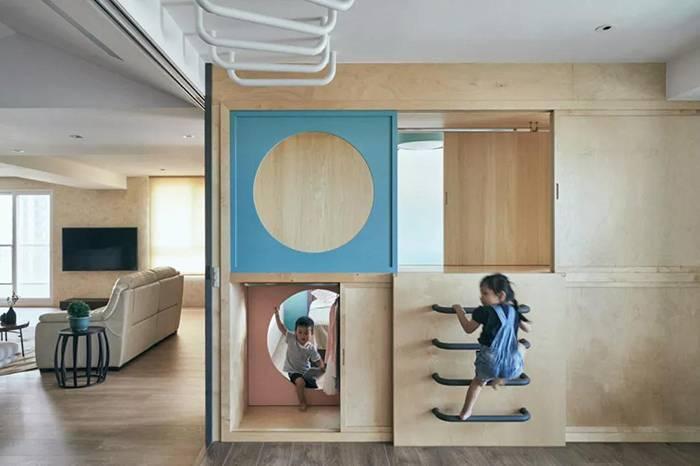 在家里造个游乐场,一个衣柜就让孩子玩到嗨!