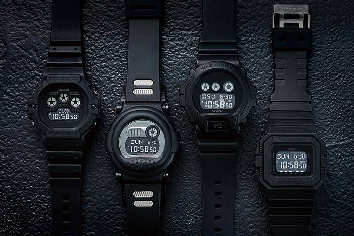 G-SHOCK 推出全新哑光黑配色,重塑经典35周年系列