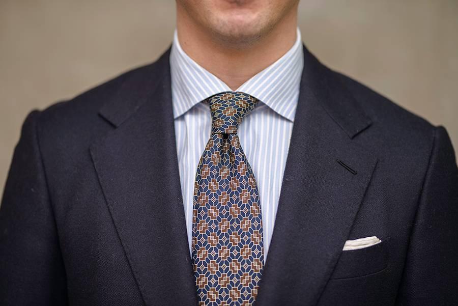 最简单的领带打法:怎么打四手结?