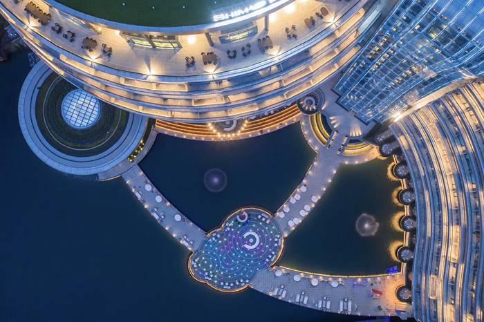上海世茂深坑酒店正式开业 耗时12年深入地下88米
