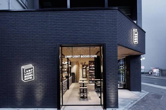 LAMP LIGHT BOOKS HOTEL :日本名古屋复合式书店旅宿,来一场不夜城的阅读体验