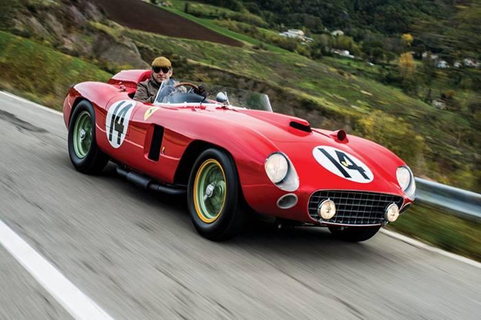 苏富比拍卖1956年梦幻法拉利290MM,经典赛车的美无法抗拒