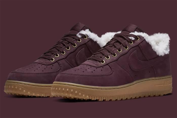 Air Force 1冬季最新配色,羊毛内衬温暖你的双脚