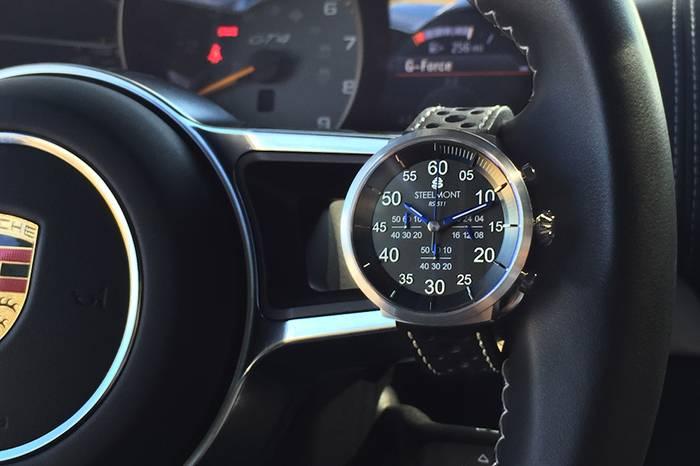 Steelmont:为驾驶而生的手表,享受旅程中的快乐