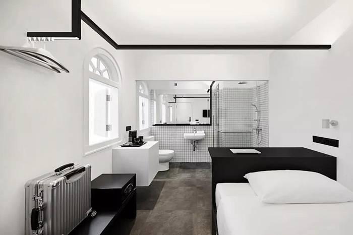 Hotel Mono:一间位于新加坡唐人街,只有黑与白的极简主义酒店