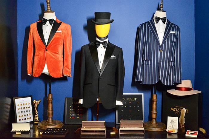 上海英式西装定制店铺SOMESET,打造古典与现代结合的绅士造型