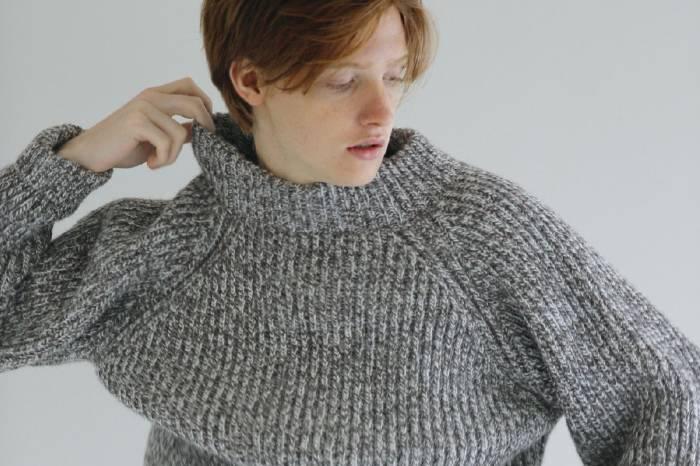 杂志节选 |《Cluel》2018秋冬12月号,搭出彩的毛衣