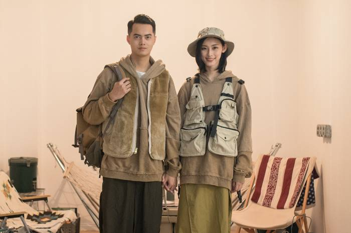 INS穿搭博主:这对东莞年轻情侣,大概是山系穿搭的最佳示范