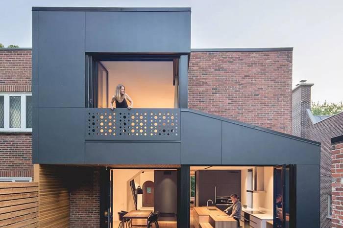200㎡ 房屋改造,木头 红砖和钢铁的混合艺术