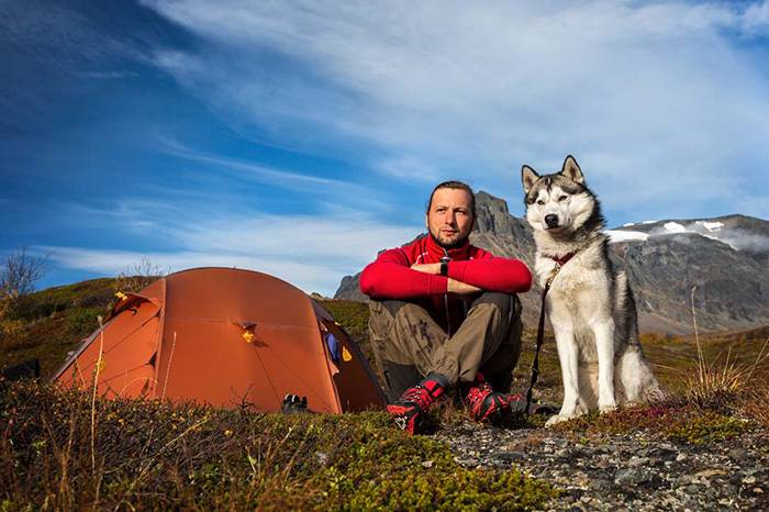 带上狗狗去露营是一种怎样的体验?