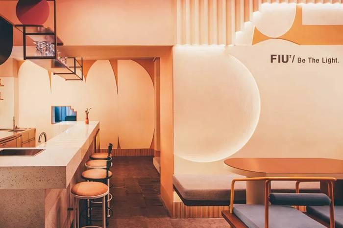 上海甜点与艺术结合的空间,白天是餐厅晚上却变身酒吧