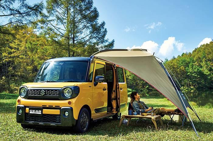 SUZUKI 全新车型活力登场,超实用的家庭出游露营之选