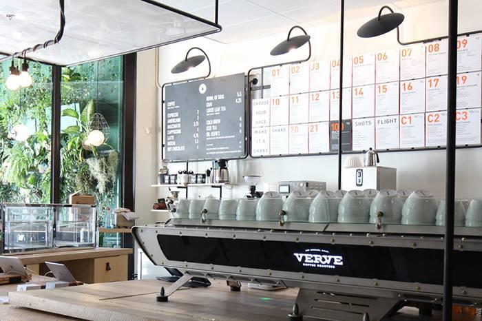 Verve Coffee Roaster:传递着精品烘培和街头文化的日本咖啡店