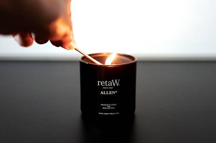 日本香氛生活品牌retaW,诠释简约的性冷淡风格