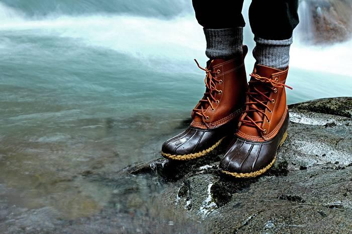 为何时尚品牌都在借鉴这双畅销100年的猎鸭靴设计?