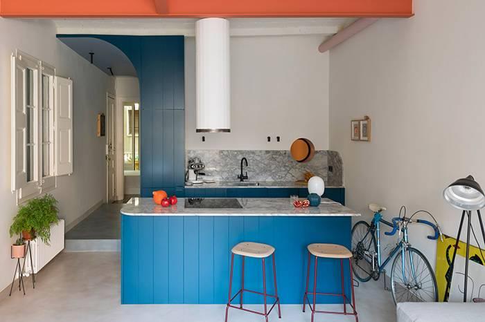 75㎡的多色彩空间,充满趣味的小户型设计