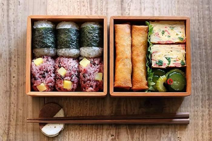 这些精致的便当盒让吃饭具有仪式感