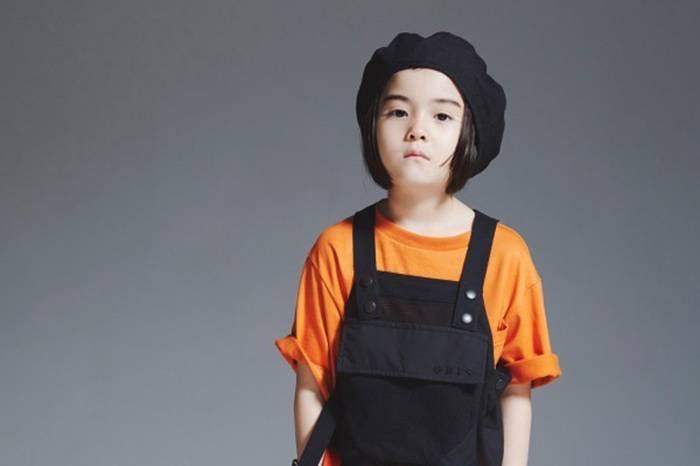 GRIS发布2019春夏型录,用亮色系打造酷劲童装