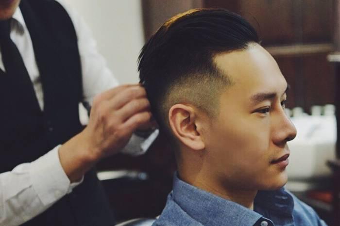 新年从剪一个整洁的油头发型开始