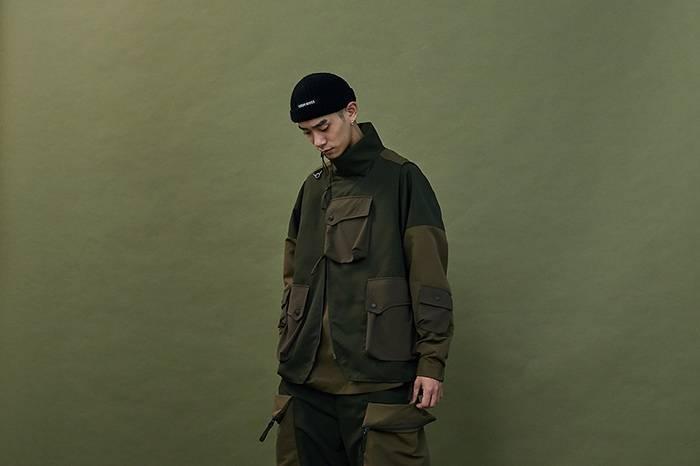 台湾服饰品牌WISDOM和GOOPIMADE最新联名,打造山系风时空猎人