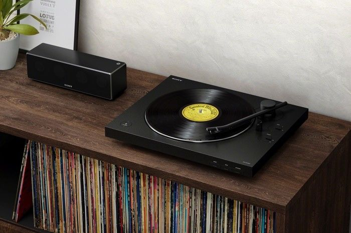 Sony发布新款黑胶唱机,支持无线蓝牙播放及三种增益功能