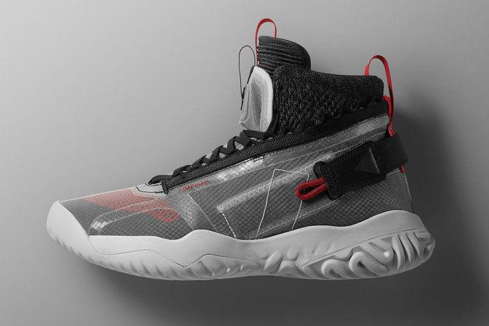 Jordan Brand带来全新解构球鞋,融合Flyknit和React多种设计语言