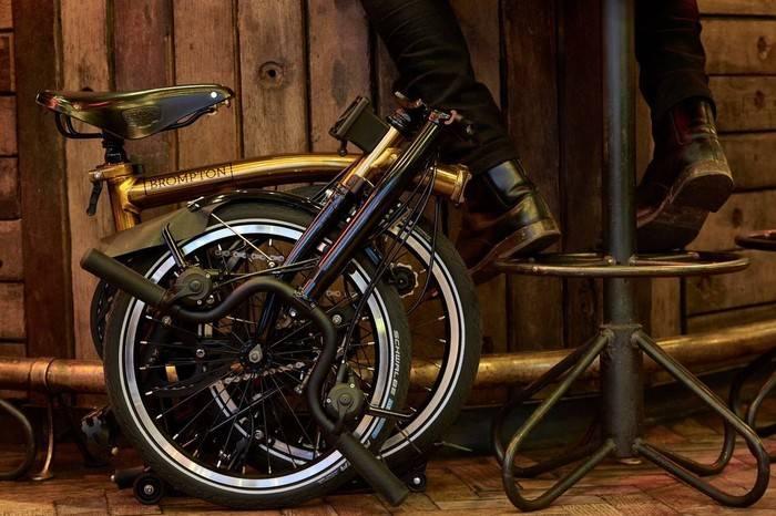 Brompton亚洲20周年炫金限量版全球首发,打造高品质健康骑行文化