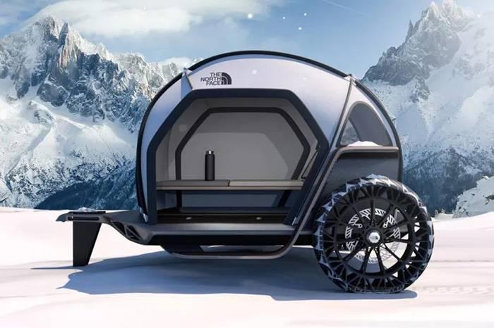 BMW Designworks x TNF 概念露营车,定义未来式的户外机能