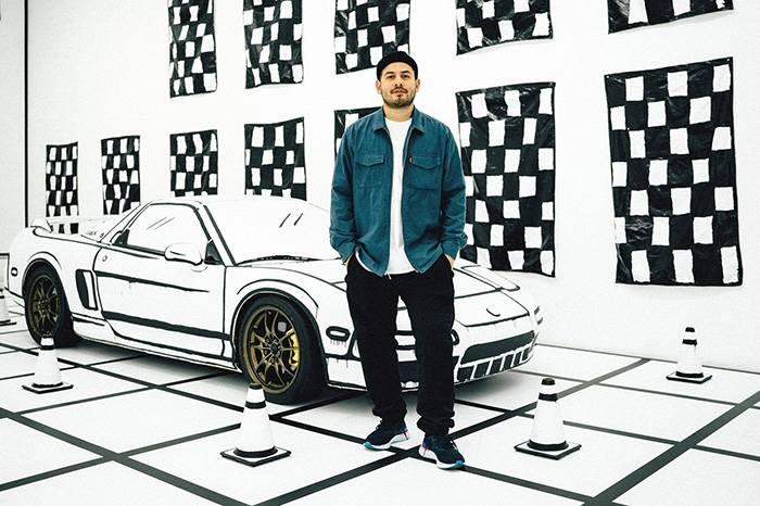 视觉艺术家Joshua Vides用黑白线条勾勒脑洞大开