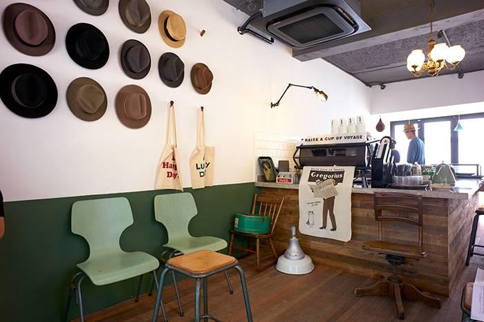 Gregorius:上海一家有品位的美式复古咖啡店