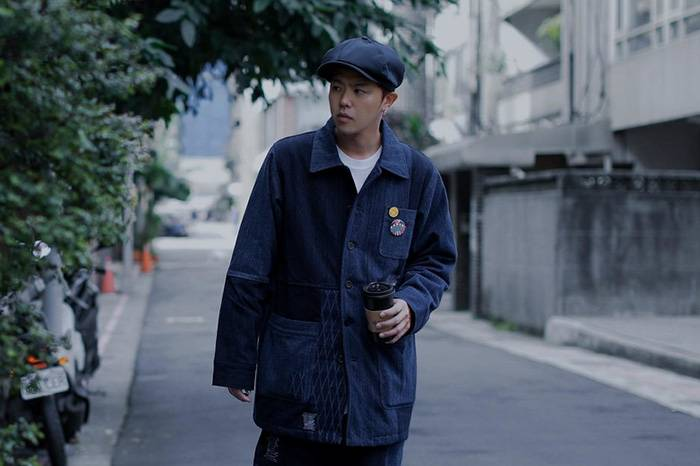 台湾街拍 | 都市蓝染男孩