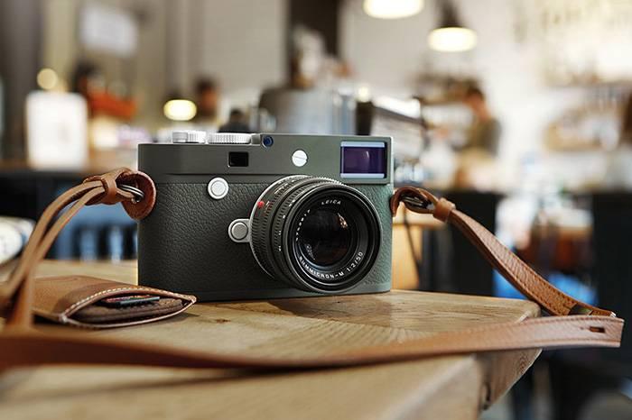 Leica M10-P Safari限量版发布,首次推出橄榄绿漆面镜头
