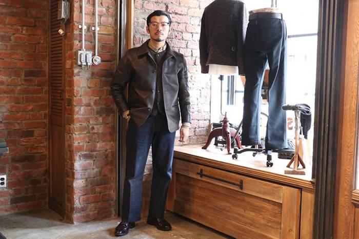 日本街拍 | TROPHYCLOTHING男装店员