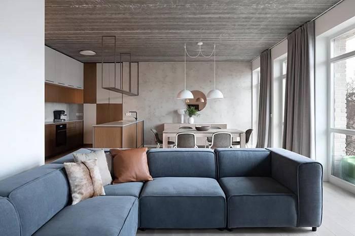 简约设计的温馨小宅,木质与金属的碰撞更显时尚