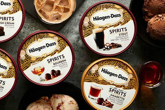 哈根达斯美国地区推出含酒精的冰淇淋系列