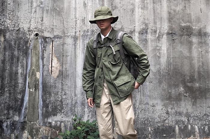 INS穿搭博主:这个韩国艺术家将老派军装穿出了不一样的时髦都市味