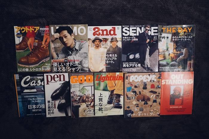 想要拥有好品位, 这15本日本男士时尚杂志你必须知道