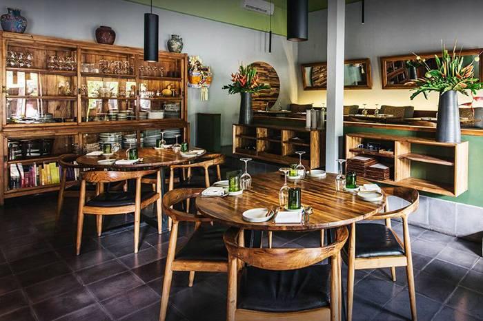 巴黎岛上的绿色餐厅利用当地蔬果烹饪环保饮食