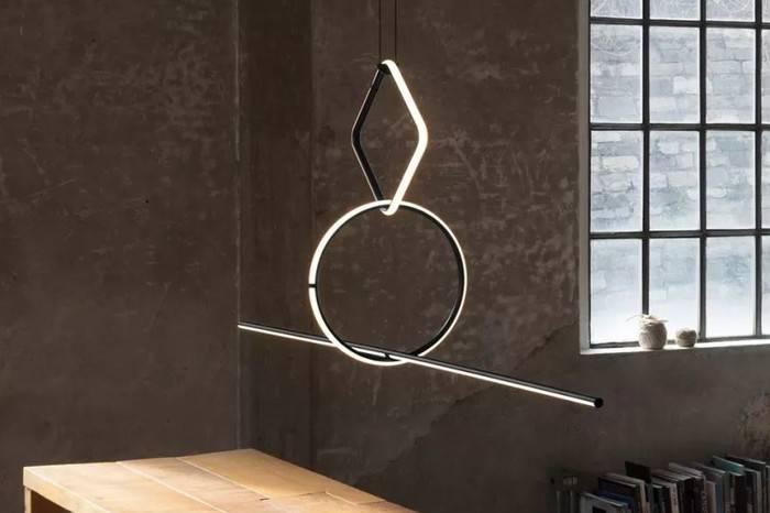看看这些极简灯具,几何元素还能这么玩?