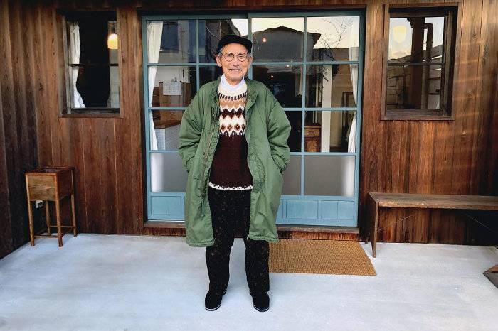 这位88岁的日本老爷爷告诉你:什么叫做穿搭品位从不下线!