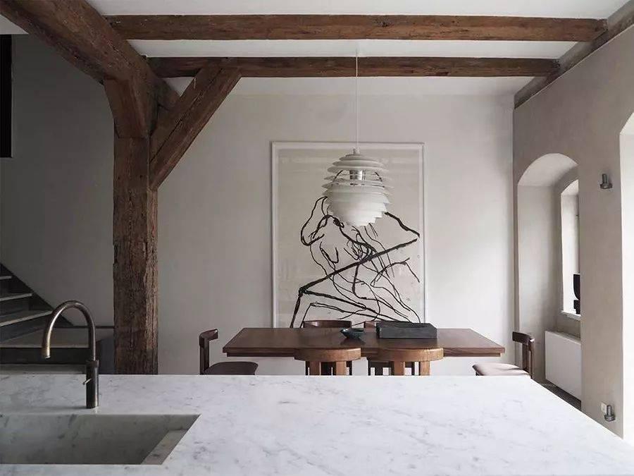 挪威建筑师用天然材质,打造宁静而柔和的诗意生活