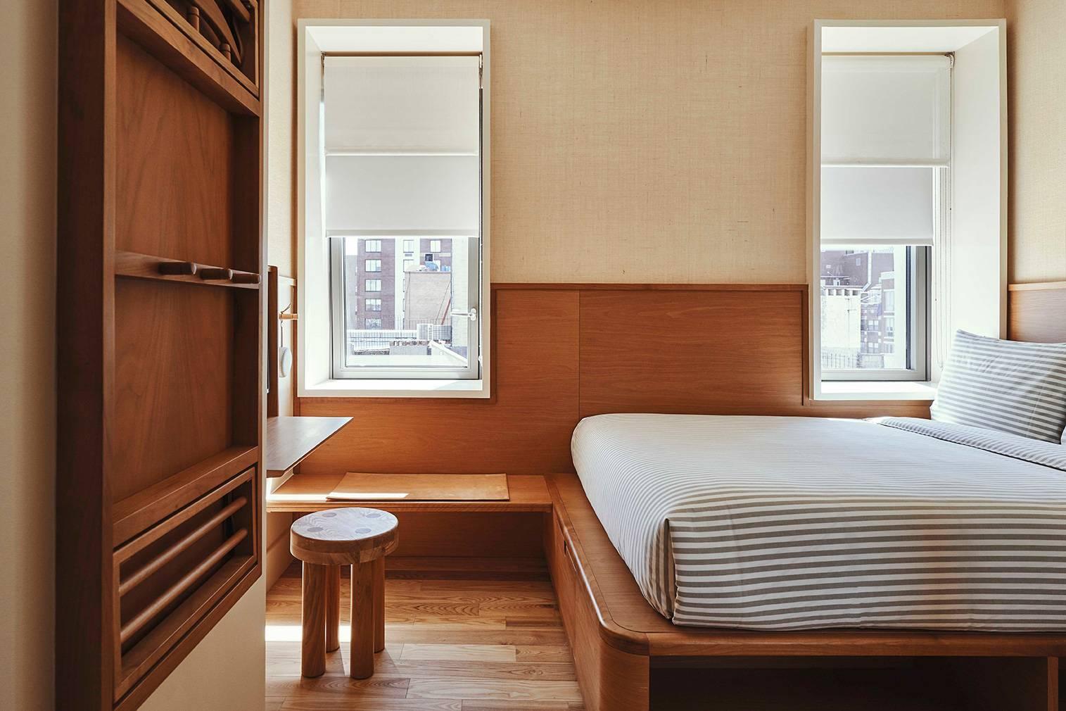 在这家有芬兰元素与日式情怀的酒店,做一回真正的纽约人