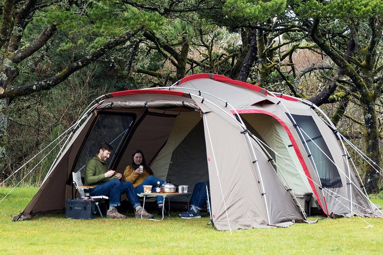 这顶帐篷,让野营时分的室内Party变成可能