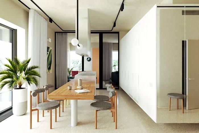 长方形的室内布局这样设计让家装空间大一倍