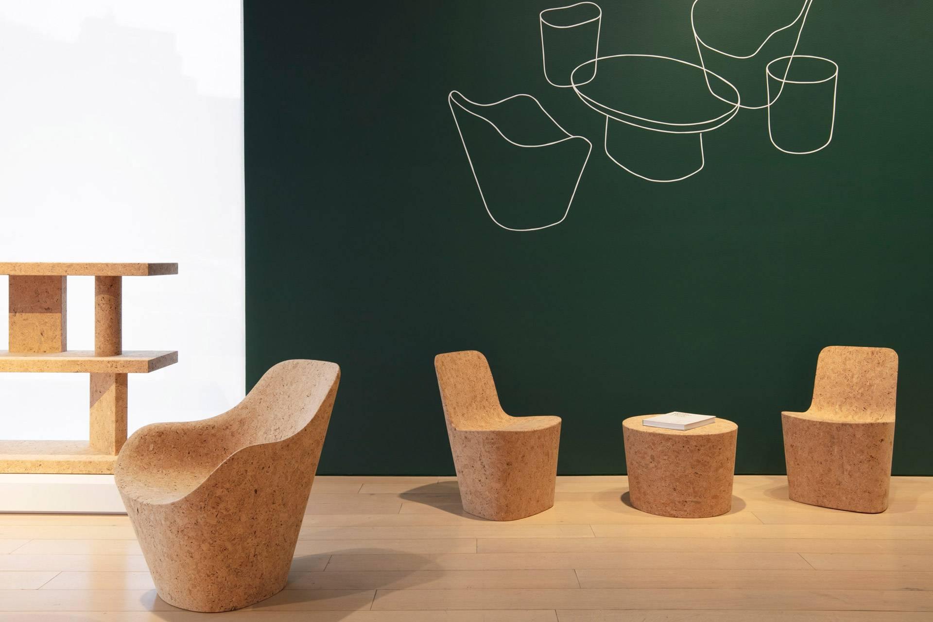 来自伦敦的极简主义设计师,打造出一整套软木家具系列